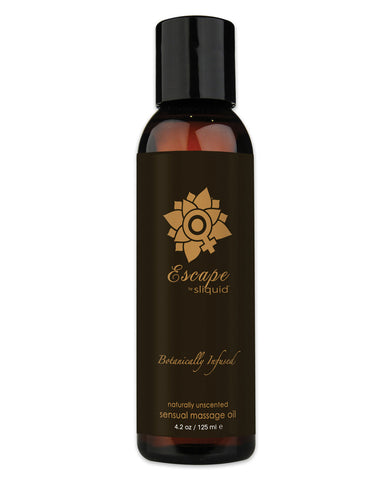 Sliquid Organics Massage Oil - 4.2 Oz Escape