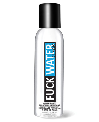 Fuck Water Clear H2o - 2 Oz Bottle