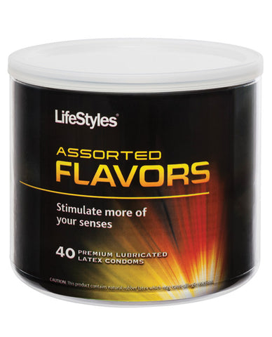 Lifestyles Assorted Flavors  - Bowl Of 40