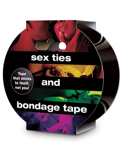 Sex Ties & Bondage Tape - Black