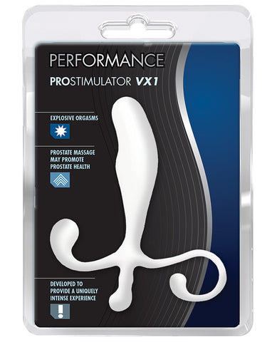 Blush Performance Prostate Massager - White