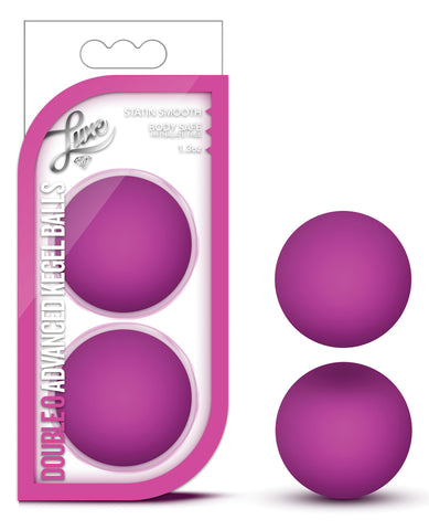 Blush Luxe Double O Advanced Kegel Balls - Pink