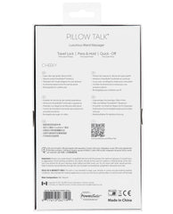 Pillow Talk Cheeky Wand - Teal
