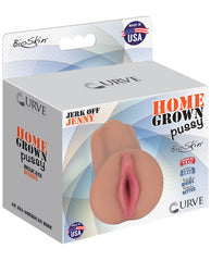 Curve Novelties Home Grown Bioskin Jerk Off Jenny - Latte