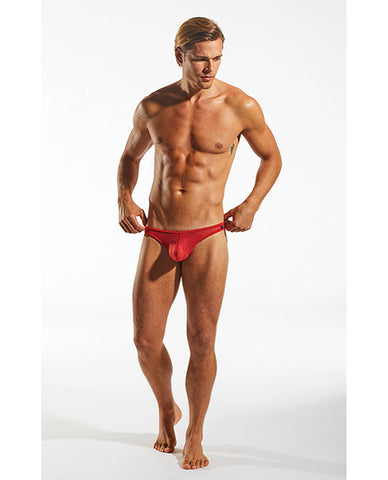 Cocksox Sheer Enhancing Pouch Brief Eros Cupid Red Sm