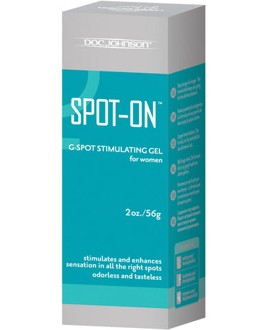 Spot On G-spot Stimulating Gel For Women - 2 Oz Tube