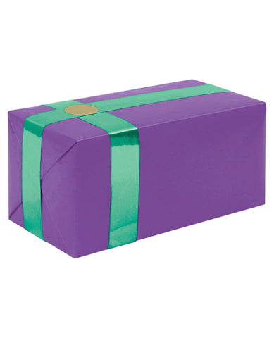 Gift Wrapping For Your Purchase (purple W-teal Ribbon)-extra Day To Ship