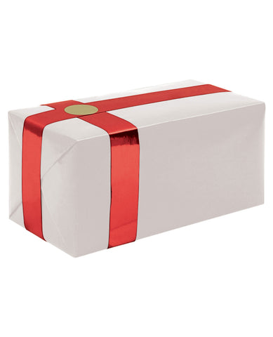 Gift Wrapping For Your Purchase (white W-red Ribbon) -extra Day To Ship
