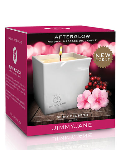 Afterglow Massge Candle - Berry Blossom