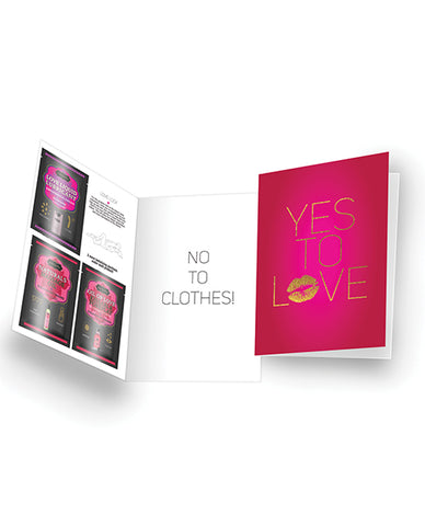 Kama Sutra Naughty Notes Greeting Cards - Yes To Love