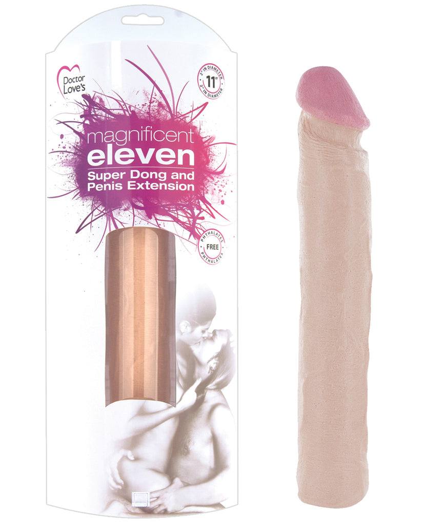Magnificent Eleven Super Dong Penis Extension