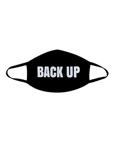 Neva Nude Back Up Mask W-100% Cotton Liner Black Md