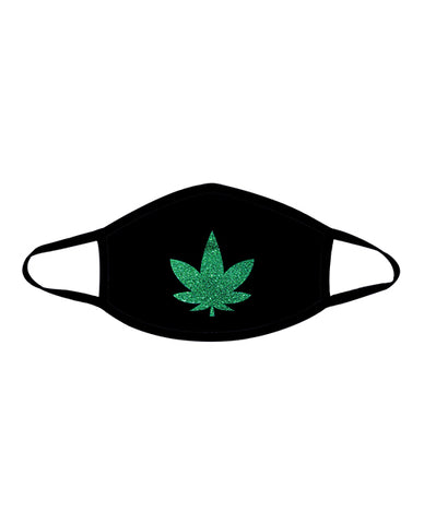 Neva Nude Weed Mask W-100% Cotton Liner Black Md