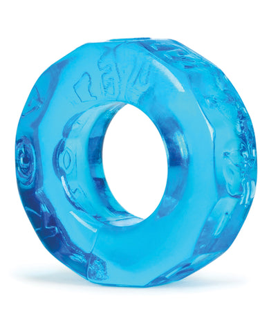Oxballs Atomic Jock Sprocket Cockring - Ice Blue