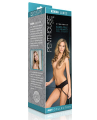 Penthouse Pet Cyberskin Hands Free Adjustable Dual Stroker - Kenna James
