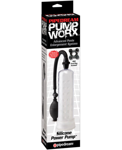 Pump Worx Silicone Power Pump - Clear