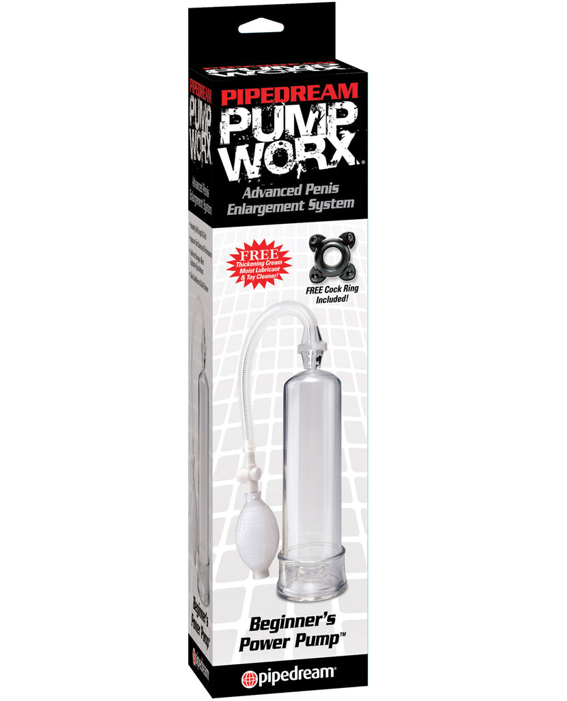 Pump Worx Beginner's Power Pump - Clear