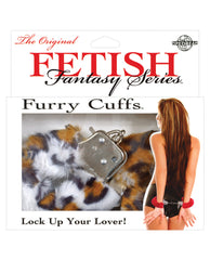 Fetish Fantasy Series Furry Cuffs - Leopard