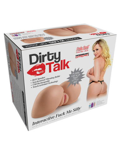 Pipedream Extreme Toyz Dirty Talk Interactive Fuck Me Silly Masturbator