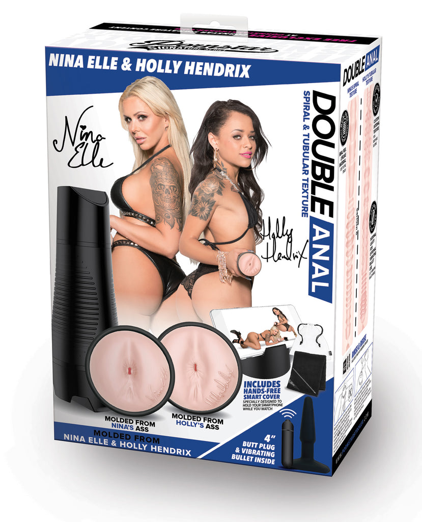 Pornstar Signature Series Double Anal Strokers - Set Of 2