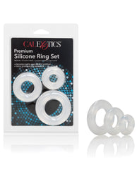 Premium Silicone Ring Set Pack Of 3