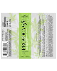 Provocatife Hemp Oil Massage Lotion W-pheromones