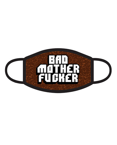 Wood Rocket Bad Mother Fucker 3-ply Face Mask