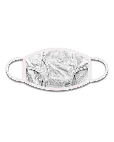 Wood Rocket Tighty Whites 3-ply Face Mask