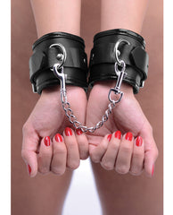 Strict Locking Padded Wrist Cuffs