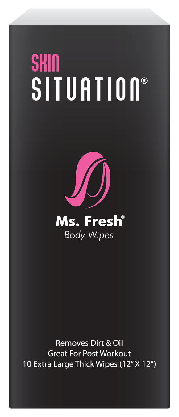 Ms. Fresh Body Wipes