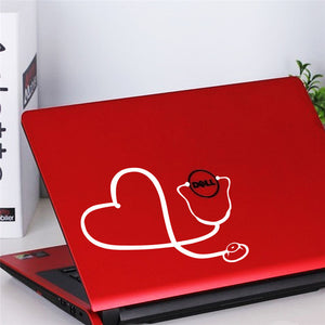 Nurse Stethoscope Sticker Vinyl Decal