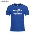 T Shirt Real Men Marry Nurses