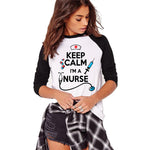Nurse T-shirt Keep Calm I'm A Nurse