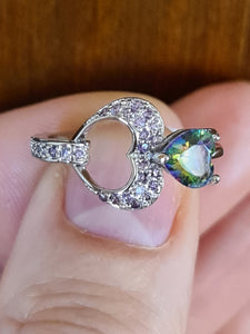 Size 7 Sweet Mystic Topaz Ring