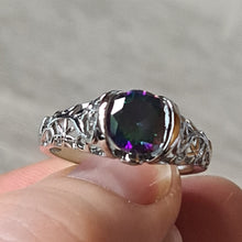 Glorious Mystic Topaz Ring size 10