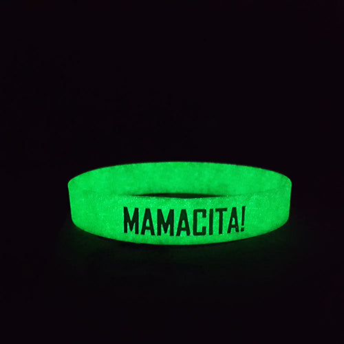 Mamacita Glow in the Dark Wristband