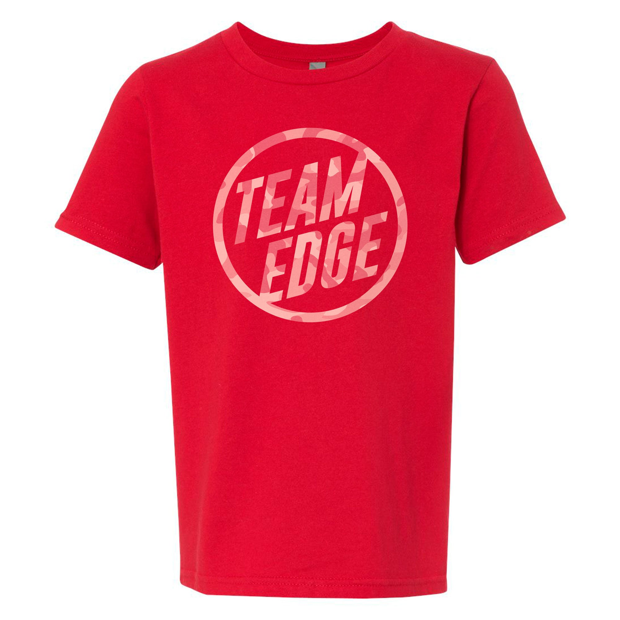 Team Edge Camo Youth Tee
