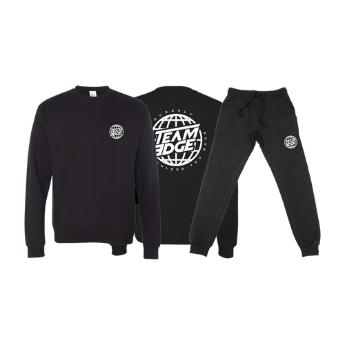 Globe Sweater & Jogger Bundle