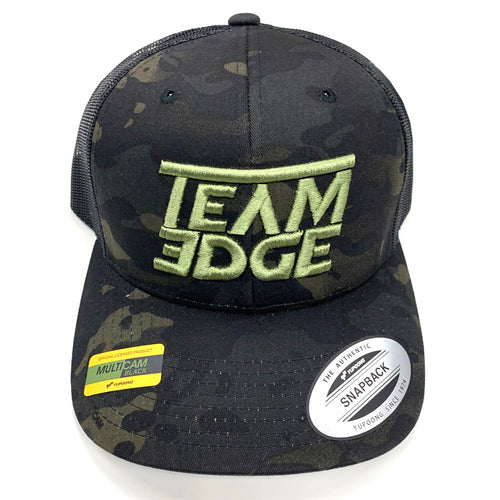 Team Edge Multicam/Green Trucker Hat