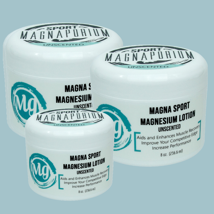 Magna Sport Magnesium Lotion - Value Pack