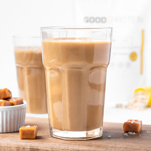 Smoothie caramel salé & café||Salted caramel & coffee smoothie