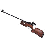 Beeman SAG .177 Caliber CO2 Single Shot Air Rifle with Beachwood Stock