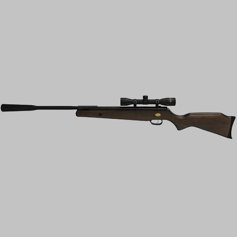 Beeman Quiet Tek .177 Caliber Single Shot Air Rifle with 4x32mm Scope