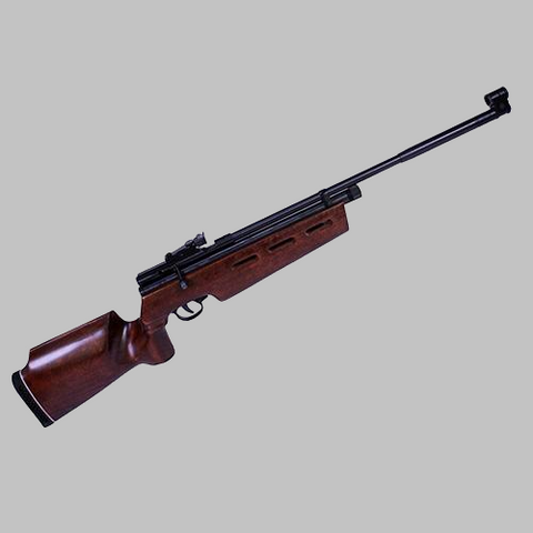 Beeman SAG .22 Caliber CO2 Bolt Action Air Rifle with Peep Sights