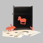 Pellet Trap w/Targets&Silhouettes