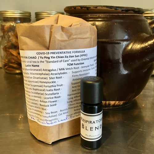 Tea Preventative Kit #1: Economy Comprehensive Preventative Tea & Ess Oil
