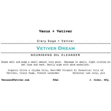 Vetiver Dream Cleansing Oil