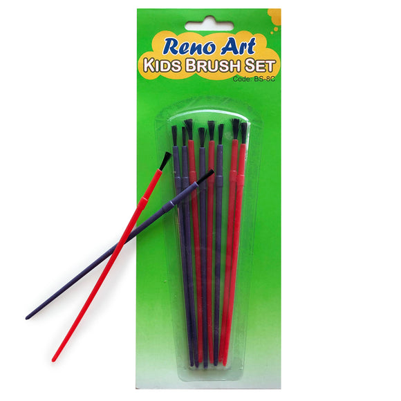 Kids Art Brushes 8pk
