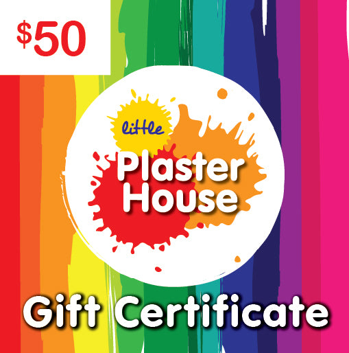 Plaster Painting Gift Certificate $50