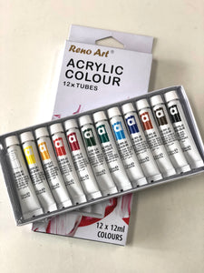 Acrylic Paint Set 12 x 12mL